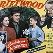 Driftwood, Ruth Warrick, Dean Jagger Poster by Everett