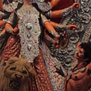 Durga Goddess 2012 Poster by Rajan Advani