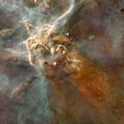 Eta Carinae Nebula, Hst Image Poster by Nasaesan. Smith (university Of California, Berkeley)hubble Heritage Team (stsclaura)