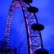 Eye Of London Poster by Roberto Alamino