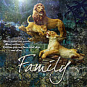 Family Poster by Evie Cook
