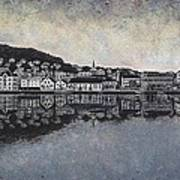 Farsund Waterfront Poster by Janet King
