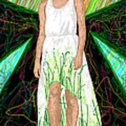 Fashion Abstraction De Jeff Hanson Poster by Kenal Louis