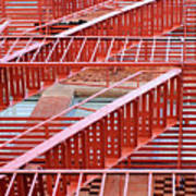 Fire Escape Poster by Copyright Eric Reichbaum