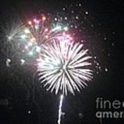 Fireworks Poster by Dyana Rzentkowski