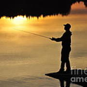 Fisherman Poster by Conny Sjostrom