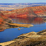 Flaming Gorge Poster by Donna Duckworth
