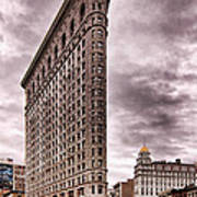 Flat Iron Building Poster by Michael Dorn