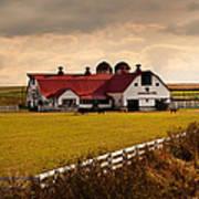 Flemingsburg Farm Ky Poster by Randall Branham