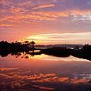 Florida Sunrise Poster by Charles Warren