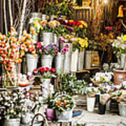 Flower Shop Poster by Heather Applegate