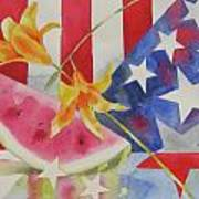 Fourth Of July Poster by Amy Householder
