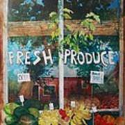 Fresh Produce Poster by Micheal Jones