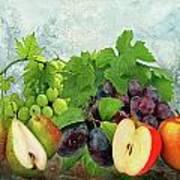 Fruit Garden Poster by Manfred Lutzius
