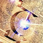 Future Computing, Conceptual Image Poster by Richard Kail