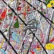 Fyr Art Work 7 Poster by Cyryn Fyrcyd
