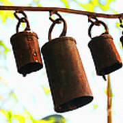 Garden Noah Bells 2 Poster by Cheryl Young