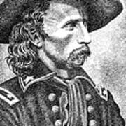 General Custer Poster by Gordon Punt
