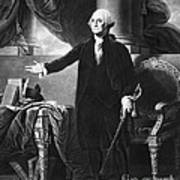 George Washington, 1st American Poster by Omikron