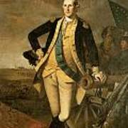 George Washington At Princeton Poster by Charles Wilson Peale