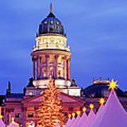 German Christmas Market Poster by Murat Taner