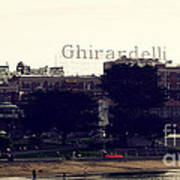 Ghirardelli Square Poster by Linda Woods