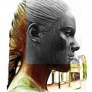 Girl Statue Poster by Stefan Kuhn