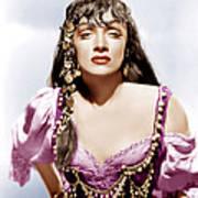 Golden Earrings, Marlene Dietrich, 1947 Poster by Everett