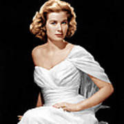 Grace Kelly, Ca. 1954 Poster by Everett