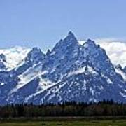 Grand Tetons 2 Poster by Charles Warren