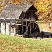 Grist Mill 2 Poster by Franklin Conour