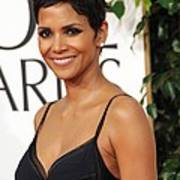 Halle Berry At Arrivals For The Poster by Everett