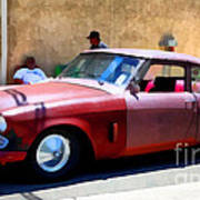 Hanging With My Buddy . 1953 Studebaker .  5d16513 Poster by Wingsdomain Art and Photography