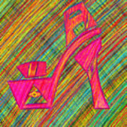 High Heels Power Poster by Pierre Louis