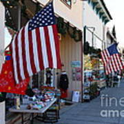 Historic Niles District In California Near Fremont . Main Street . Niles Boulevard . 7d10692 Poster by Wingsdomain Art and Photography