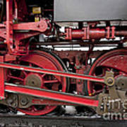 Historical Steam Train Poster by Heiko Koehrer-Wagner