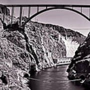 Hoover Dam Bridge Poster by Andre Salvador