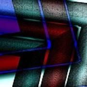 Horizontal Symmetry Poster by Mario Perez