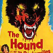 Hound Of The Baskervilles, Hammer Poster by Everett