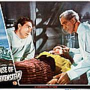 House Of Frankenstein, From Left J Poster by Everett