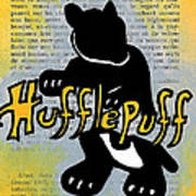 Hufflepuff Badger Poster by Jera Sky