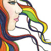 I Am My Own Rainbow Poster by Nora Blansett