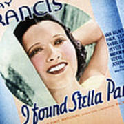 I Found Stella Parish, Kay Francis, 1935 Poster by Everett