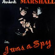 I Was A Spy, Herbert Marshall Poster by Everett