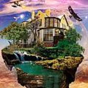 Imagination Home Poster by Pierre Louis