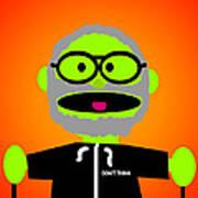 Improv Puppet Poster by Jera Sky