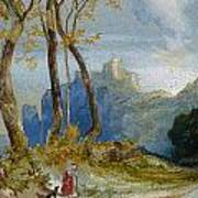 In The Hills Poster by Thomas Moran