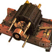 Induction Motor Poster by Photo Researchers