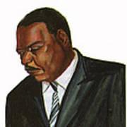 Issa Hayatou Poster by Emmanuel Baliyanga