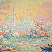 Istanbul Poster by Paul Signac